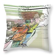 Daddy's Home Inspired Whirrrrrrr Throw Pillow