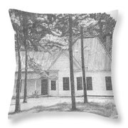 Dad's Homeplace Throw Pillow