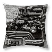 Dad's Olds Throw Pillow