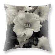 Daffodils Emerge Throw Pillow