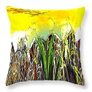 Daffy Two Throw Pillow
