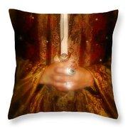 Dagger Throw Pillow
