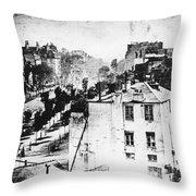 Daguerreotype, 1838 Throw Pillow