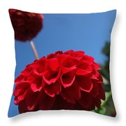 Dahlia #4 Throw Pillow