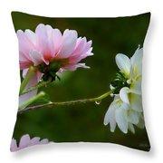 Dahlia Incognito Throw Pillow