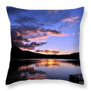 Daicey Pond Sunrise II Throw Pillow