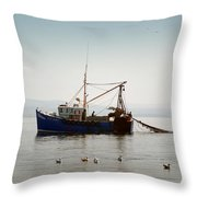 Daily Catch Throw Pillow