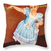 Dainty Diva Throw Pillow