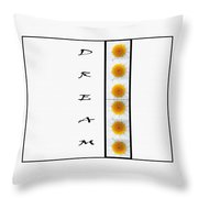 Daisies Dream Throw Pillow