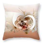 Daisies II Throw Pillow