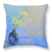 Daisies Throw Pillow