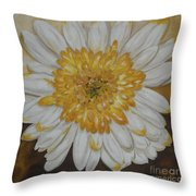 Daisy-2 Throw Pillow