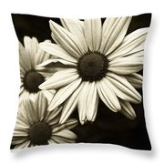 Daisy 2 Throw Pillow by Tanya Jacobson-Smith