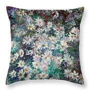 Daisy Dreamz Remix Throw Pillow