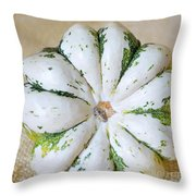 Daisy Gourd Throw Pillow