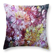 Daisy Mix   Sold Throw Pillow