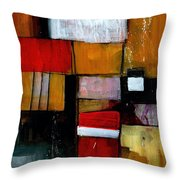 Dakota Street 9 Throw Pillow by Douglas Simonson