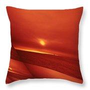 Dakota Sun Throw Pillow