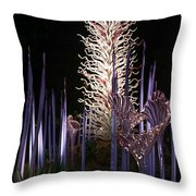 Dale Chihuly Glass Art Throw Pillow