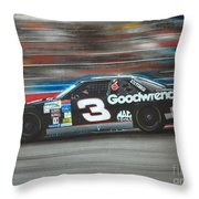 Dale Earnhardt Goodwrench Chevrolet Throw Pillow