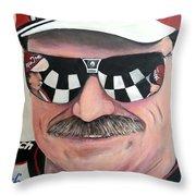 Dale Earnhardt Sr Throw Pillow