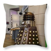 Dalek At The Bbc 2 Throw Pillow