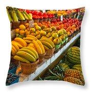 Dallas Farmers Market 2 Throw Pillow