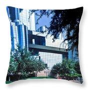 Dallas Glass  Throw Pillow