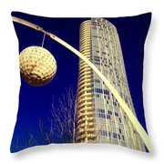 Dallas Museum Tower Throw Pillow