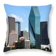 Dallas Texas Throw Pillow