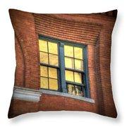 Dallas Window Throw Pillow