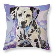 Dalmatian Puppy Throw Pillow