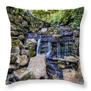 Dam Spillover Throw Pillow