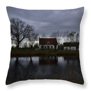 Damme Throw Pillow