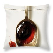Damson Plum Relish Throw Pillow
