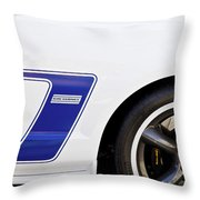Dan Gurney 2009 Ford Mustang Throw Pillow