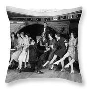 Dance: Charleston, C1926 Throw Pillow