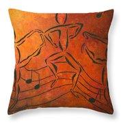 Dance Fever Throw Pillow