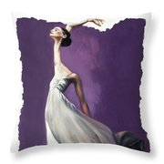 Dance For Him Throw Pillow