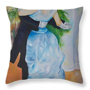 Dance In The City  Throw Pillow