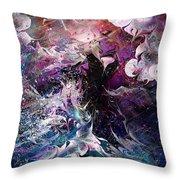 Dance In The Seas Throw Pillow by Rachel Christine Nowicki