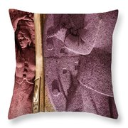 Dance Of Colors Throw Pillow