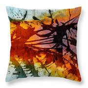Dance Of Colours  Throw Pillow