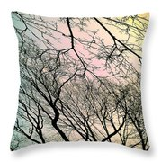 Dance Of Spring Throw Pillow