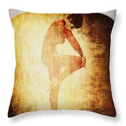 Dance Of The Fool Throw Pillow