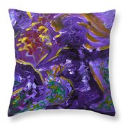 Dance Of The Sugar Plum Fairies Throw Pillow