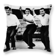 Dance The Twist, C1962 Throw Pillow