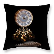 Dance Time Throw Pillow