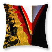 Dance Upon The Bow Throw Pillow