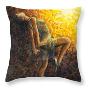 Dancer Ix Throw Pillow